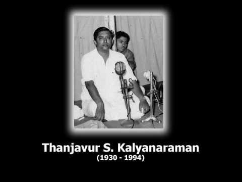 Thanjavur S Kalyanaraman
